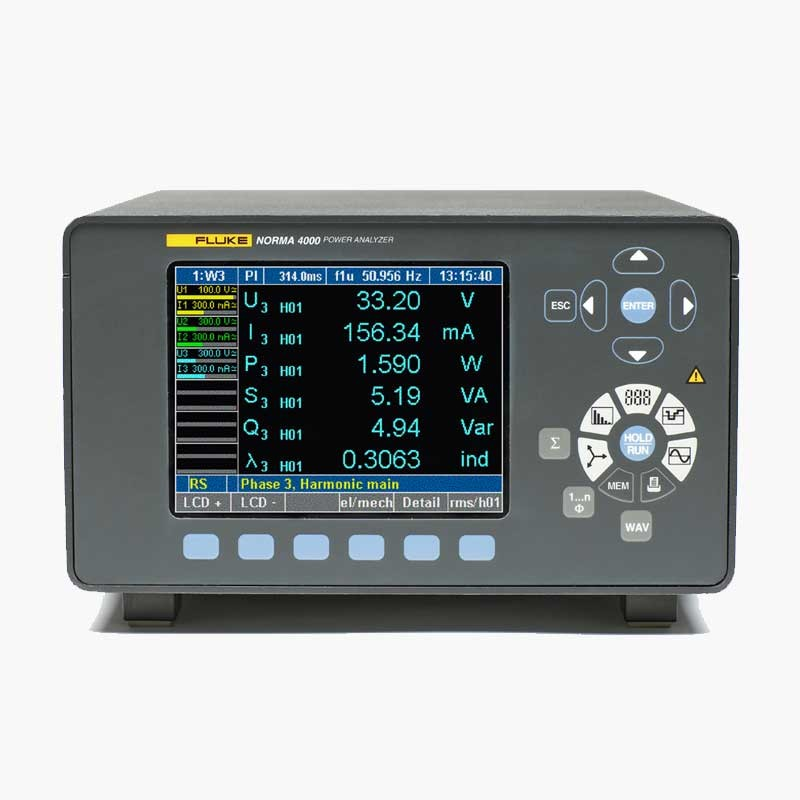 Fluke Norma 4000 Power Analyser