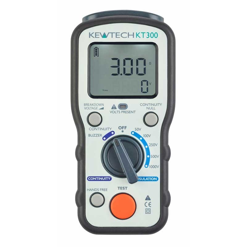 Kewtech KT300 Digital Insulation Tester
