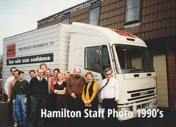cuthbertson laird group staff 1990's
