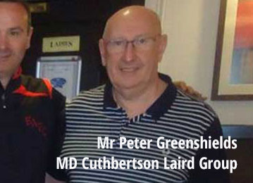mr peter greenshields managing director cuthbertson laird group