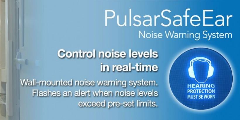 PulsarSafeEar - Noise Warning System