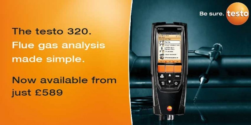 Testo Flue Gas Analyser Price Drop