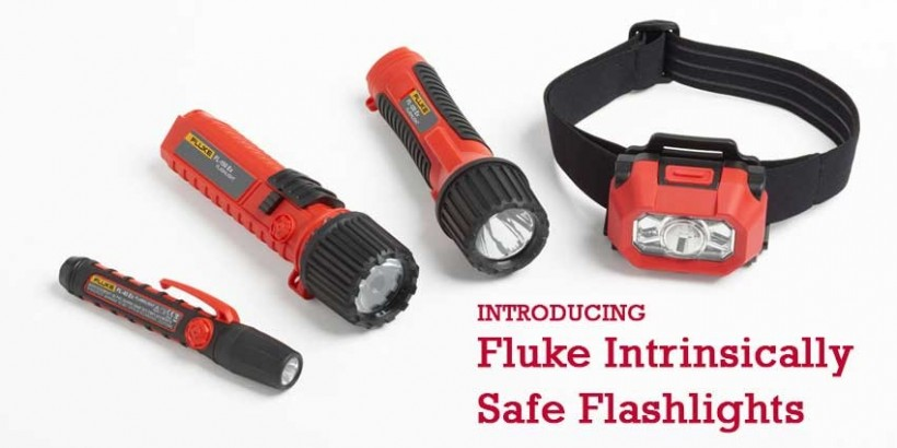 Fluke Intrinsically Safe Flashlights