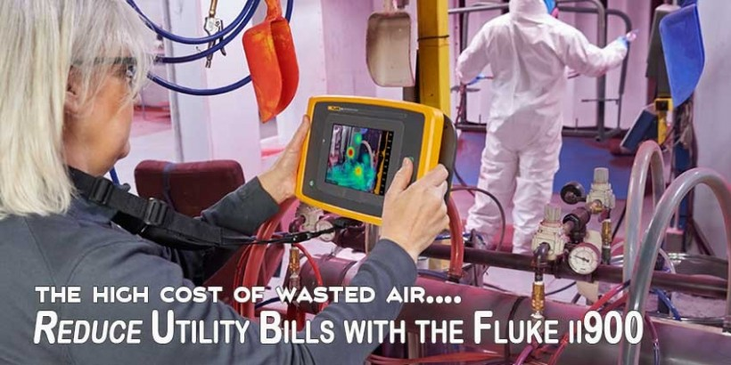 Pinpoint Compressed Air Leaks And Reduce Utility Bills