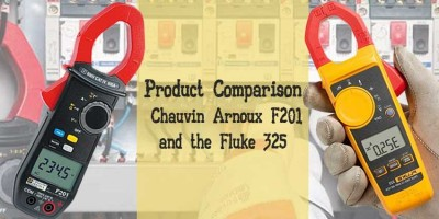 Product Comparison - Chauvin Arnoux F201 and the Fluke 325