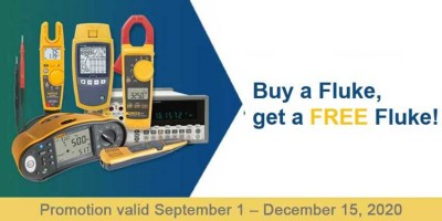 Buy a Fluke, get a FREE Fluke!