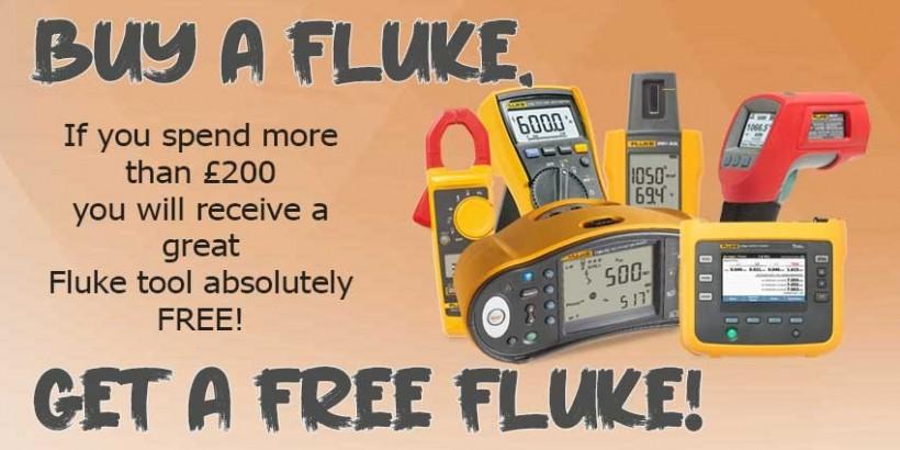 Buy a Fluke, get a FREE Fluke Promotion 2021