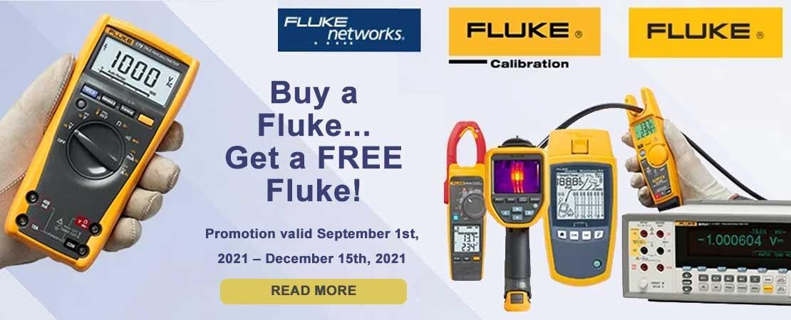 Buy a Fluke... Get a FREE Fluke promotion 2021