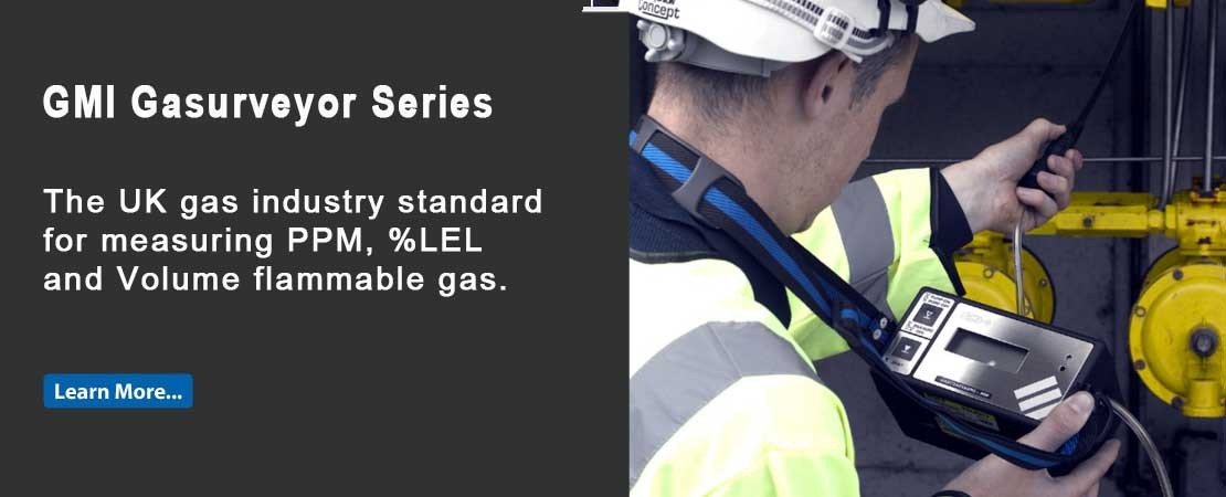 GMI Gasurveyor 500 Series is the most flexible range of gas detectors available from GMI.