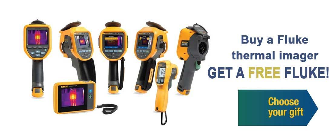 Buy a Fluke thermal imager - GET A FREE FLUKE!